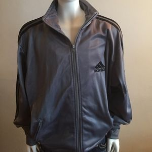 ADIDAS  Gray Warm up Jacket